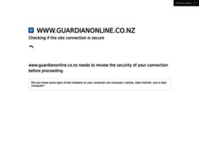 Guardianonline.co.nz thumbnail