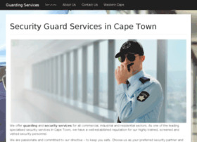 Guarding-services.co.za thumbnail