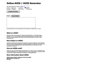 Guidgenerator.com thumbnail