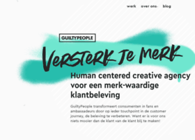 Guiltypeople.nl thumbnail
