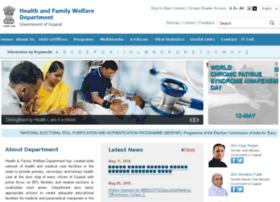 Gujhealth.gov.in thumbnail