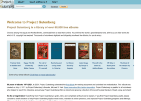 Gutenberg.org thumbnail