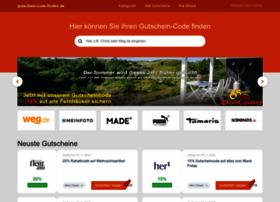 Gutschein-code-finden.de thumbnail