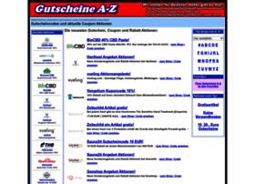 Gutscheine-a-z.de thumbnail