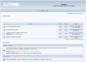 Gxone.co.uk thumbnail