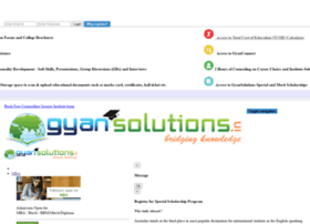 Gyansolutions.in thumbnail