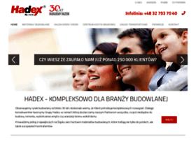 Hadex.com.pl thumbnail