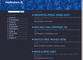 Hadouken.it thumbnail