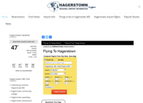 Hagerstownairport.org thumbnail