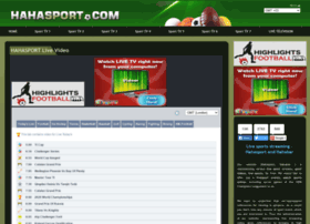 Hahasport Live streaming football
