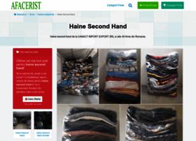 Haine-second-hand.afacerist.ro thumbnail