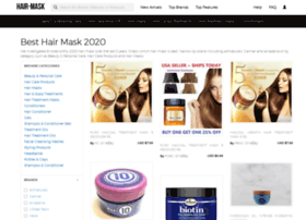 Hair-mask.org thumbnail