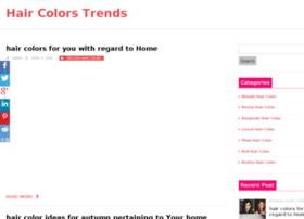 Haircolortrends.net thumbnail