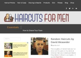 Haircutsformen.org thumbnail