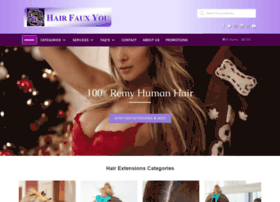 hairfauxyou.com at WI. Hair Faux You - Home