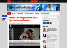 Hairlosscureguide.com thumbnail