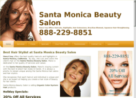 Hairsalonsantamonica.org thumbnail