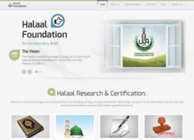 Halaalfoundation.com thumbnail
