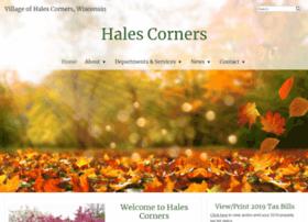 Halescorners.org thumbnail