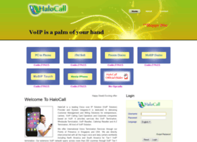 Halocall.net thumbnail