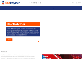 Halopolymer.com thumbnail