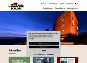Hambacher-schloss.de thumbnail