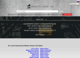 Hambantotaairport.info thumbnail