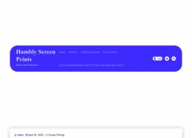 Hamblyscreenprints.com thumbnail
