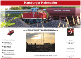Hamburger-hafenbahn.de thumbnail