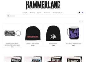 hammerland.gr at WI. HammerLand - The Official Metal
