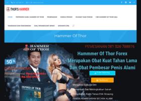 hammerofthors com at wi hammer of thor s asli obat pembesar penis