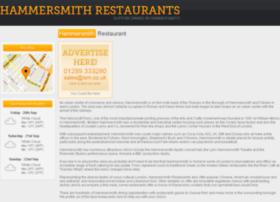 Hammersmithrestaurant.co.uk thumbnail