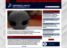 Handballkreis-koeln-rheinberg.de thumbnail