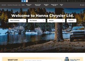 Hannachrysler.com thumbnail