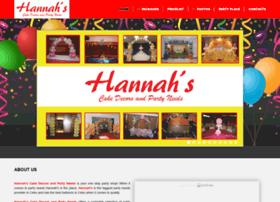 Hannahspartyneeds.com thumbnail