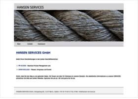 Hansen-services.de thumbnail