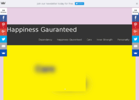 Happinessgaurenteed.in thumbnail