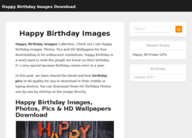 Happybirthdayimagesdownload.com thumbnail