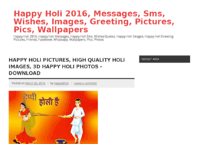 Happyholi2016messagessms.in thumbnail