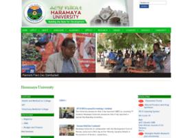 Haramaya.edu.et thumbnail