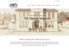 Harborspringshistory.org thumbnail