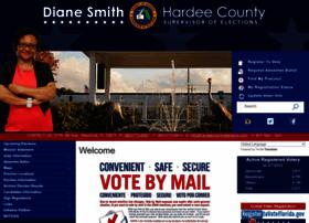 Hardeecountyelections.com thumbnail