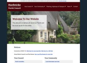 Hardwickepc.gov.uk thumbnail