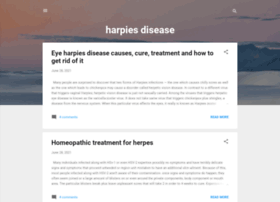 Harpiesdisease.com thumbnail
