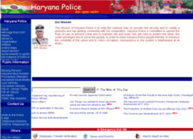 Haryanapolice.nic.in thumbnail