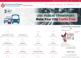 Haryanatransport.gov.in thumbnail