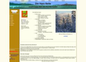 Harz-seite.de thumbnail