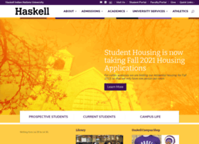 Haskell.edu thumbnail
