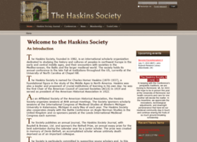 Haskinssociety.org thumbnail