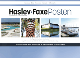 Haslevfaxeposten.dk thumbnail